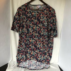 LulaRoe Irma Minnie Mouse Designed T-Shirt